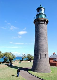 Queenscliff High (Black) Light, Australia: Victoria All Over The World, Around The Worlds, Lighthouse Lighting, Ocean House, Photos 2016, Beacon Of Light, Interesting Buildings, Peaceful Places, Dark Places