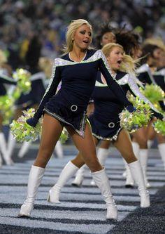Cheerleaders seattle seahawks