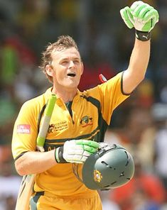 Adam Gilchrist: the greatest keeper/batsman ever? I think so.