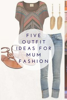 Some mums may head to work and be in their office attire, while others may wear their exercise gear to take advantage of the incidental exercise of walking their child to school. If you're neither of those and are a mum with little cherubs, wanting to look stylish but casual at the school gates, here are 5 outfit ideas to cover you for 1 week of school drop offs.  #mumfashion #schooldropoff #fashion #style #outfitideas