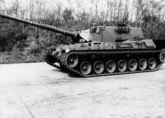 """In their headquarters strategists give prefer types of tanks from the domestic weapons production preference: In Germany, engineers are developing in the 1960s, the """"Leopard 1""""."""