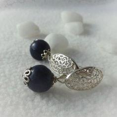 Ohrhänger Lapis lazuli Silber 925 Lapis Lazuli, Minerals, Diamonds, Stud Earrings, Jewelry, Jewelery, Gemstone Beads, Polka Dots, Brooch