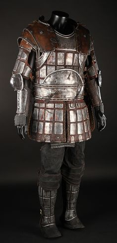 Bors (Ray Winstone) Metal Armour, Tunic And Trousers | Prop Store - Ultimate Movie Collectables