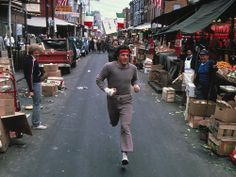 Sylvester Stallone Rocky On Street in Philadelphia Glossy Color Photo Rocky Stallone, Rocky Sylvester Stallone, Rocky Ii, Rocky 1976, Bruce Willis, Chuck Norris, Keanu Reeves, Movie Stars, Movie Tv