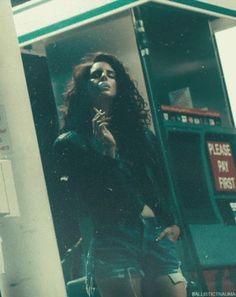 Lana Del Rey Ride music video  - smoking a cigarette