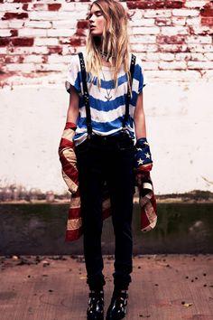 Elsa Sylvan for Free people Lookbook - Fashion | Popbee