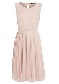 F&F Pleated Chiffon Dress - £25 #FeelTheHeat #Fashion #Pink