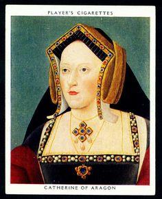 Cigarette Card - Catherine of Aragon   von cigcardpix