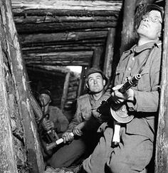 Finnish soldiers in the VT-line in 1944. Pin by Paolo Marzioli