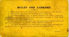 1877 Sabbath school libraries