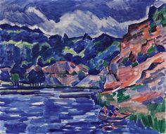 Fauvism, Mondrian, Art Auction, Siena, Prague, Modern Art, Artsy, Landscape, Gallery