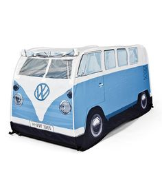Take a look at this Blue Volkswagen Play Tent by The Warehouse USA on #zulily today!