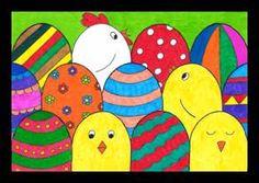 Velikonoční obrázek