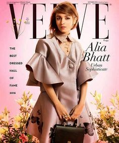 #aliabhatt on the cover of #verve! @aliaabhatt  #followme #insta #instagram #instapic #instagood #instafollow #instalife #instalike #instalove #instafashion #instafame #instafamous #lifestyle #style #model #samysays #love #peace #glam #glamour #artist #fashion #fashionista #fashionblogger