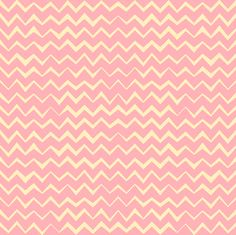 Hand drawing pink zigzag. Сollection