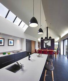 Indirekte Beleuchtung Dachschräge indirekte beleuchtung in dachschräge montiert inneneinrichtung