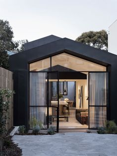 Shed Plans - Port Melbourne House / Pandolfini Architects via onreact - Now You Can Build ANY Shed In A Weekend Even If You've Zero Woodworking Experience! Fachada Colonial, Solar Panel Cost, Internal Courtyard, Archi Design, Narrow House, Melbourne House, Shed Plans, Barn Plans, Garage Plans