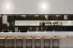 Back Bar and Wine Display