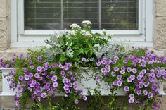 Just So Lovely: A Window Box Tutorial. Curb appeal with beautiful flowers and charming window boxes
