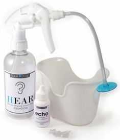 Hear Earwax Remover Kit, Includes: Ear Drops to Soften Ear Wax, Wash Basin, 3 Soft Disposable Tips, Irrigation System to Clean Outer Ear Best Ear Wax Removal, Ear Wax Removal Tool, Cleaning Your Ears, Ear Cleaning, Elephant Ear Washer, Ear Drops, Best Vacuum, Spray Bottle