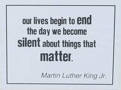 Image result for quote speaking up