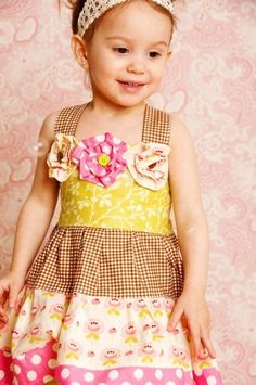 Cute for a birthday dress.
