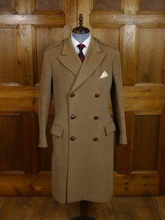 British warm overcoat