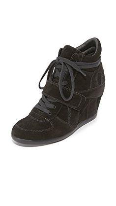 Ash Women's AS-Bowie Sneaker, Black/Black/Black, 37 M EU