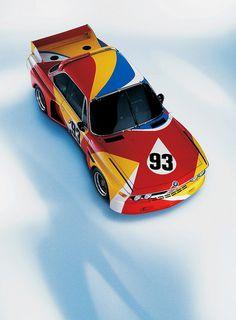 3.0CSL E9 Group 2 Race Car - Art Car by Alexander Calder - 1975