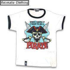 Jolly Roger Kids T Shirt
