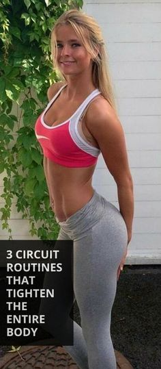 3 Circuit Blasts That Tighten Your Entire Body - Arms Fitness