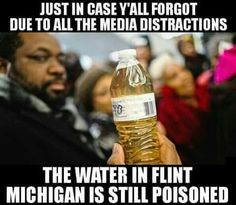 2016 in Flint, Michigan. There's now a whole generation of children who have lead poisoning, which may lead to the next generation of children having issues. It's wonderful that government made money on their people's suffering. Government greed at it's worst :(