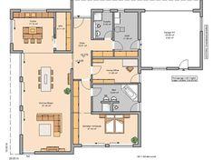 Bauhaus-Bungalow Purea von Kern-Haus | Barrierefreiheit ähnliche tolle Projekte und Ideen wie im Bild vorgestellt findest du auch in unserem Magazin