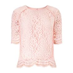 Leith Lace Top found on Polyvore