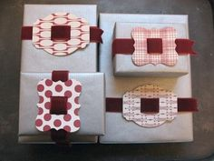 Cute Christmas wrapping job!!