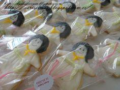 Galletas decoradas para 1º comuníon para Ana Suyu:)