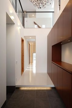 Villas, House Entrance, Entrance Hall, Japanese House, House Rooms, Custom Homes, Interior Architecture, New Homes, House Design