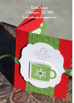 Krista's Stamper Room: Christmas Gift Card Holder