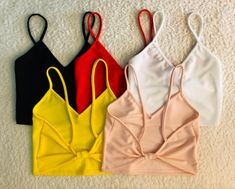 Crop Top Outfits, Cute Casual Outfits, Pretty Outfits, Stylish Outfits, Girls Fashion Clothes, Teen Fashion Outfits, Outfits For Teens, Summer Outfits, Quick Diy Clothes
