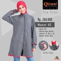 Beli Baju Jaket Wanita Qirani Fresh Mawar 46 Abu Muda dari Aprilia Wati agenbajumuslim - Sidoarjo hanya di Bukalapak