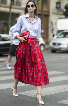 The best street style looks from Paris Fashion Week