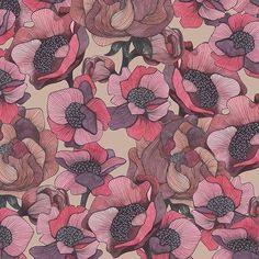 Autumn Garden by Elona Laff #newonpatternbank #patternbank #seamless