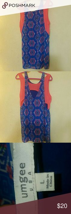 UmGee Tank dress UmGee Tank dress Sz Lg Umgee Dresses Midi