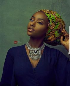 Hi ladies, I've got some exciting new head wrap styles to share with you, and i believe you'll agree with me that these simply are remarkabl. African Beauty, African Women, African Fashion, Black Girl Magic, Black Girls, Beautiful Black Women, Beautiful People, Skin Girl, African Head Wraps