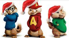 Feliz Natal - Alvin e os esquilos cantando musica de natal