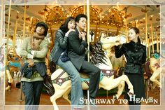 STAIRWAY TO HEAVEN - Oh boy, I loved this stereotypical K-drama. So many dreams, so many tears. Star-crossed lovers, misunderstandings, scheming relatives, blindness, missing each other by seconds, piggy-back rides, soju and jajangmyeon... the whole bit.