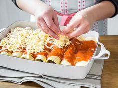 Enchiladas selber machen – So gelingen die Tex-Mex-Rollen