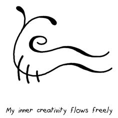 "Anonymous said: Are you able to do a Sigil to allow my inner creativity to flow? Answer: ""My inner creativity flows freely"" sigil Alchemy Symbols, Magic Symbols, Symbols And Meanings, Celtic Symbols, Egyptian Symbols, Sigil Magic, Eclectic Witch, Symbolic Tattoos, Wiccan Tattoos"