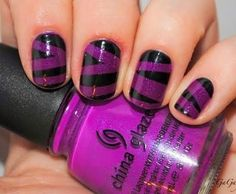 Purple Nail Ideas for 2015