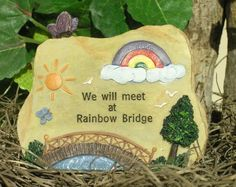 Written In Stone Polystone Message Rock - Irish. Realistic polystone rock carved with a message on the front. Pet remembrance plaque. Individually boxed. This engraving is inspired from the great Rain